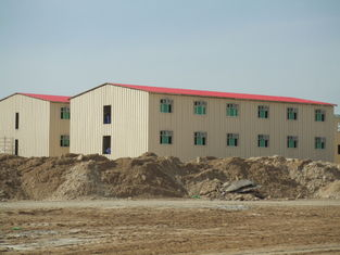 China Low Cost Prefab Commercial Buildings / Energy Saveing Prefab Metal Building supplier