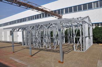China Metal Car Sheds Light Steel Frame Sheds Moistureproof Strong Frame With A Storage supplier