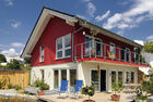 China 100 / 50mm ALC Panel Prefab Steel Villa / Prefab Metal Buildings For Family House factory