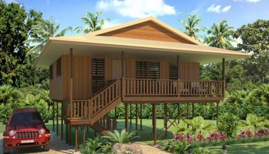 China Holidays Thailand Wooden House Bungalow , Koh Samui Beach Bungalows distributor