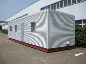 China High Insulation Eco Log Cabin Modular Homes , Green Prefab Modular Log Homes distributor