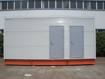 China Multi-function Steel Frame Prefab Modular Homes For Mobile Toilet / Office distributor